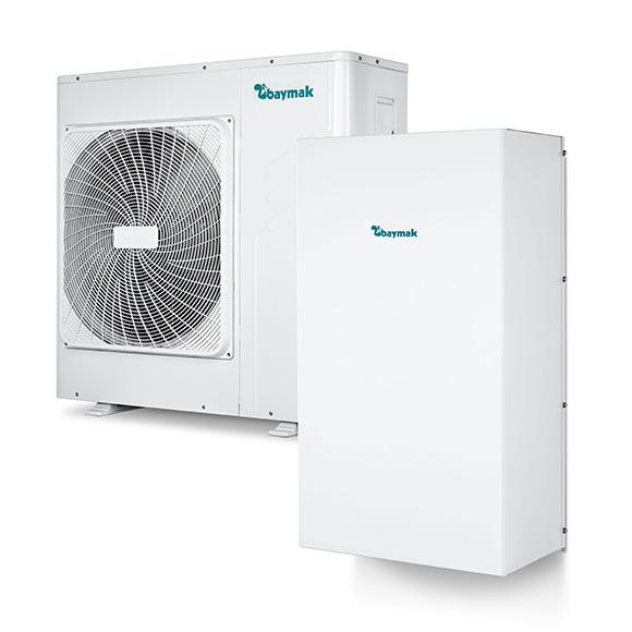baymak hava kaynaklı inverter ısı pompası fiyatları izmir